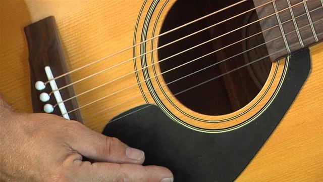 WD-40 limpa e conserva cordas de instrumentos musicais