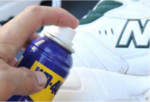 WD-40 deixa seus sapatos impermeaveis